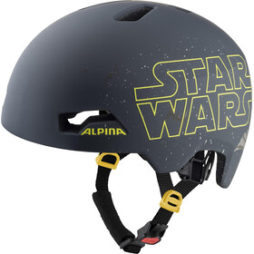 Alpina Hackney Disney Casque Enfant, Star Wars black
